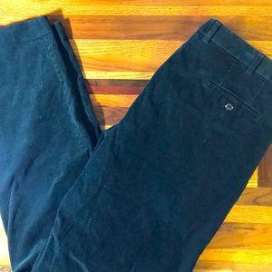 Ralph Lauren men's 38x34 green corduroy pants EUC